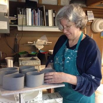 Making teardrop vases